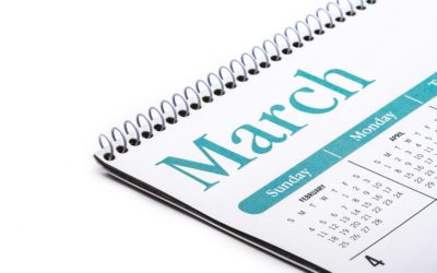 Model 720: Taxpayer's calendar for the month of March 2021 in Spain